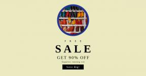Card design template for sales - #banner #businnes #sales #CallToAction #salesbanner #orange #background #chain #fashion #circular