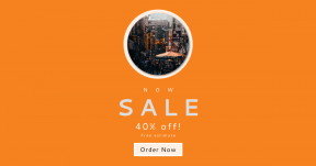 Card design template for sales - #banner #businnes #sales #CallToAction #salesbanner #city #street #people #sign #orange #asian