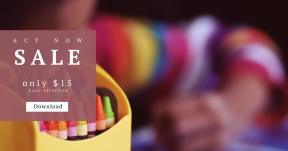Card design template for sales - #banner #businnes #sales #CallToAction #salesbanner #child #fun #creative #teacher #sketch