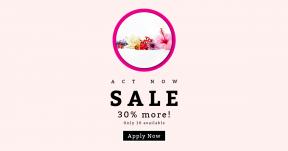 Card design template for sales - #banner #businnes #sales #CallToAction #salesbanner #flower #bouquet #employee #pink #petal #bunch #flowers