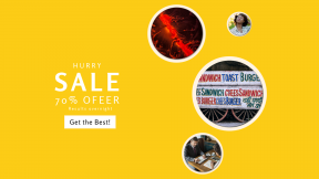FullHD image template for sales - #banner #businnes #sales #CallToAction #salesbanner #paint #polka #descent #lettering #closes #dark