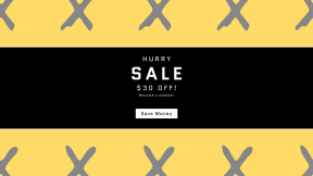 FullHD image template for sales - #banner #businnes #sales #CallToAction #salesbanner #design #blue #line #font #starfish