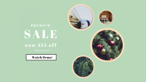 FullHD image template for sales - #banner #businnes #sales #CallToAction #salesbanner #conifer #family #force #yellow #fir #pine #festive #card