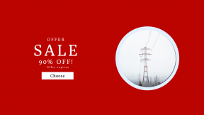 FullHD image template for sales - #banner #businnes #sales #CallToAction #salesbanner #fog #wire #forest #steel #mist #cloud #pine #electric #red #electricity