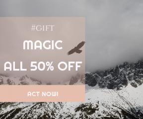 Square large web banner template for sales - #banner #businnes #sales #CallToAction #salesbanner #wing #soar #glide #mammal #winter #mist #fog #snow