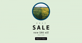 Card design template for sales - #banner #businnes #sales #CallToAction #salesbanner #meadow #family #crop #with #tall #farm #neighboring #grass #rapeseed