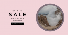 Card design template for sales - #banner #businnes #sales #CallToAction #salesbanner #coastline #geometric #fall #shape #fog #falls #hike #dolomite #person