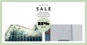 Card design template for sales - #banner #businnes #sales #CallToAction #salesbanner #ecology #leafe #bright #beach #economy #sea #corner #window #foilage #garden