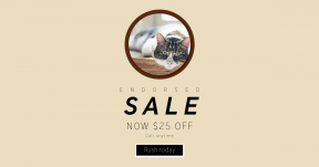 Card design template for sales - #banner #businnes #sales #CallToAction #salesbanner #heavy #pet #fat #whisker #sleepy #animal #large #fluffy #laying