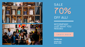 FullHD image template for sales - #banner #businnes #sales #CallToAction #salesbanner #bookcase #audience #frame #haberdashery #craft #art #ribbon #spool #meeting #product