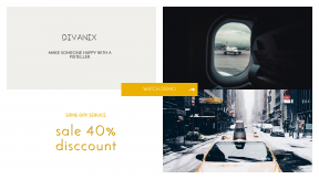FullHD image template for sales - #banner #businnes #sales #CallToAction #salesbanner #mid #mode #yellow #direction #airport #directional #city #transport #right