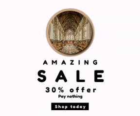 Square large web banner template for sales - #banner #businnes #sales #CallToAction #salesbanner #sacred #historical #drum #computer #historic #black #building #shape #famou