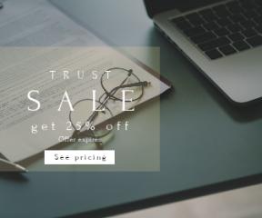 Square large web banner template for sales - #banner #businnes #sales #CallToAction #salesbanner #paperwork #paper #computer #writing #pen #macbook #clipboard #desktop