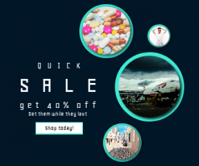 Square large web banner template for sales - #banner #businnes #sales #CallToAction #salesbanner #British #street #shapes #business #airport #vitamins