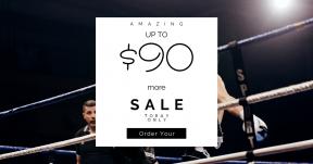 Card design template for sales - #banner #businnes #sales #CallToAction #salesbanner #stop #kickboxer #boxer #kick #wrestler #squares #france #male #fighting