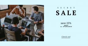 Card design template for sales - #banner #businnes #sales #CallToAction #salesbanner #mate #macbook #recruitment #startup #classroom #work #teamwork #city
