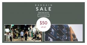 Card design template for sales - #banner #businnes #sales #CallToAction #salesbanner #architecture #residential #public #bazaar #neighbourhood #city #downtown #pedestrian