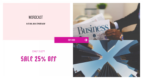 FullHD image template for sales - #banner #businnes #sales #CallToAction #salesbanner #low-angle #consulting #skyscraper #downtown #building #city #community #concrete #currency