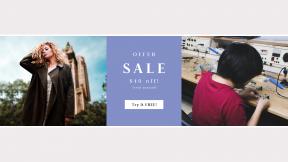 FullHD image template for sales - #banner #businnes #sales #CallToAction #salesbanner #clothing #model #tool #fur #equipment