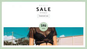 FullHD image template for sales - #banner #businnes #sales #CallToAction #salesbanner #bright #sunglasses #crop #female #80 #sky #grain #blue #70