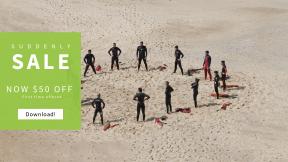FullHD image template for sales - #banner #businnes #sales #CallToAction #salesbanner #landscape #vacation #sand #group #landform #motivation #shadow #community