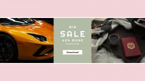 FullHD image template for sales - #banner #businnes #sales #CallToAction #salesbanner #table #lights #car #light #money