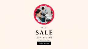 FullHD image template for sales - #banner #businnes #sales #CallToAction #salesbanner #grungy #jagged #rectangles #scientist #doctore #medic