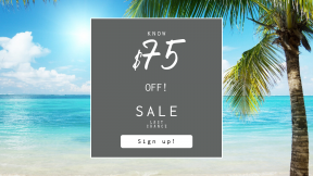 FullHD image template for sales - #banner #businnes #sales #CallToAction #salesbanner #sea #button #caribbean #squares #control #sky #landforms