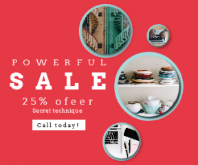 Square large web banner template for sales - #banner #businnes #sales #CallToAction #salesbanner #professional #post-it #working #staircase #product #blue #repetition #work #symmetry #keyboard
