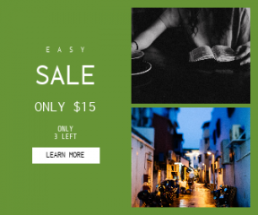 Square large web banner template for sales - #banner #businnes #sales #CallToAction #salesbanner #christ #urban #woman #architecture #cafe #cityscape #reading #faith