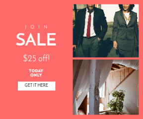 Square large web banner template for sales - #banner #businnes #sales #CallToAction #salesbanner #hotel #fashion #platonic #colleague #corporatepeople #sofa #businessman #room #employee
