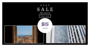 Card design template for sales - #banner #businnes #sales #CallToAction #salesbanner #corfu #skyscraper #tall #building #office