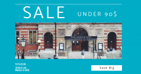 Card design template for sales - #banner #businnes #sales #CallToAction #salesbanner #and #london #college #school #pedestrian
