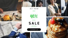 FullHD image template for sales - #banner #businnes #sales #CallToAction #salesbanner #chocolate #france #table #togetherness #shot #man #strawberry #plate #unity