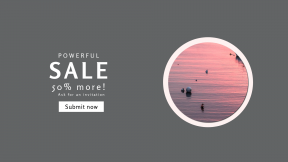 FullHD image template for sales - #banner #businnes #sales #CallToAction #salesbanner #ocean #calm #water #sunset #still #travel #boat #harbor #maine #buoy