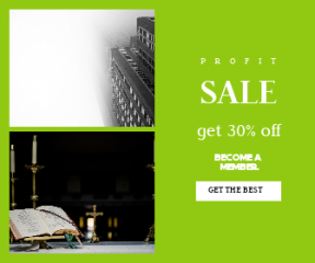 Square large web banner template for sales - #banner #businnes #sales #CallToAction #salesbanner #and #window #mass #york #jesu #candle #cloud #empire #christ