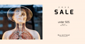 Card design template for sales - #banner #businnes #sales #CallToAction #salesbanner #science #health #medicine #anatomy #medic #art #nose #eye #display