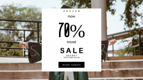 FullHD image template for sales - #banner #businnes #sales #CallToAction #salesbanner #college #hair #board #mortar #face #banner #brown #senior #gown