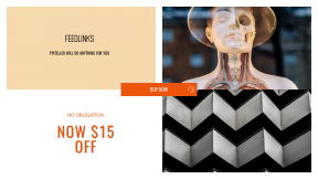 FullHD image template for sales - #banner #businnes #sales #CallToAction #salesbanner #eye #display #medical #skull #reflection #figurine #woman