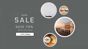 FullHD image template for sales - #banner #businnes #sales #CallToAction #salesbanner #country #plaza #cook #farm #phone #wallpaper #dine