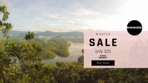 FullHD image template for sales - #banner #businnes #sales #CallToAction #salesbanner #biome #agriculture #chocolate #A #idyllic #summer #green #view