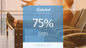 FullHD image template for sales - #banner #businnes #sales #CallToAction #salesbanner #travel #traveller #plane #waiting #away #adventure #airplane #mobile #commute