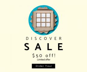 Square large web banner template for sales - #banner #businnes #sales #CallToAction #salesbanner #minimalism #skylight #ovals #scalloped #modern #grid #light