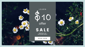 FullHD image template for sales - #banner #businnes #sales #CallToAction #salesbanner #yellow #white #black #forest #caracas #topotepuy #plant #flower #ecology #nature
