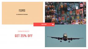 FullHD image template for sales - #banner #businnes #sales #CallToAction #salesbanner #flying #arrow #market #arrows #homemade #business #plane