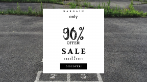 FullHD image template for sales - #banner #businnes #sales #CallToAction #salesbanner #beauty #playground #old #cracked #grass #woman #coast #grid