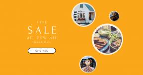 Card design template for sales - #banner #businnes #sales #CallToAction #salesbanner #socket #book #essentials #mannequin #home #facade #beauty #medicine #shape #reflection