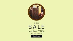 FullHD image template for sales - #banner #businnes #sales #CallToAction #salesbanner #ornate #economy #raggedborders #swirly #money #register #decorative #bronze