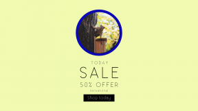 FullHD image template for sales - #banner #businnes #sales #CallToAction #salesbanner #wild #symbols #bokeh #bird #box #leaves #circles