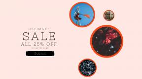 FullHD image template for sales - #banner #businnes #sales #CallToAction #salesbanner #greenry #flower #computer #branch #service #blue #autumn